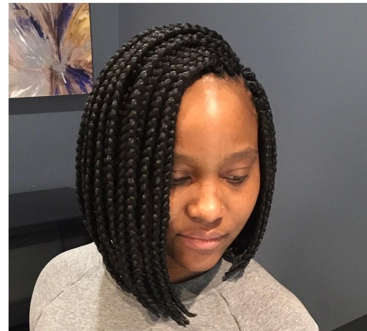 Sese S Protective Styling Featured Gallery Just divide the ponytailed braids into two parts and let them show off by positioning them in the front from both sides of the shoulder. sese s protective styling featured gallery